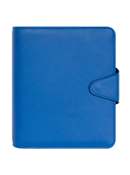 Alivia Simulated Leather Snap Binder