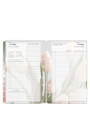 Blooms Two Page Per Day Ring-bound Planner