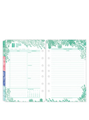 Flora Two Page Per Day Ring-bound Planner