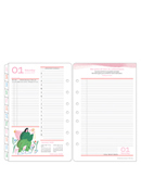 Her Point of View Two Page Per Day Ring-bound Planner