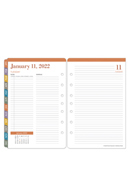 Wanderlust Two Page Per Day Ring-bound Planner