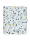 Planner Love Wild Asparagus Simulated Leather Snap Binder