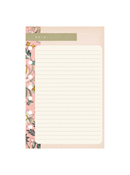 Wild Asparagus Planner Love Lined Notepad