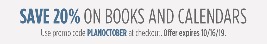 Save 20 Percent On Books and Calendars